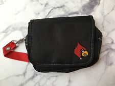 Louisville Cardinals Bag by Little Earth Black with Removable Strap
