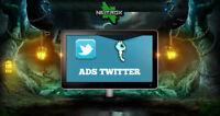SOCIAL WEB MARKETING • Servizio pubblicità • TWITTER
