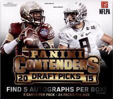 2015 Panini Contenders Draft Picks Hobby Box - Factory Sealed!