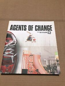 dc skateboard shoes - agents of change - book