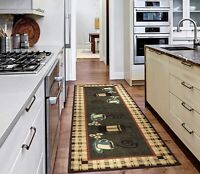 Ottomanson Kitchen Runner Rug Carpet Non Slip Area Rug Floor Mat Rubber Backed
