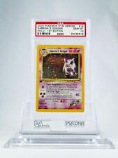 PSA 10 GEM MINT 1st Edition Sabrina's Gengar HOLO Pokemon Gym Heroes 14/132 RARE