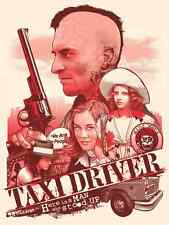 Joshua Budich Taxi Driver Variant GID Poster 18x24 Signed & Numbered #/50