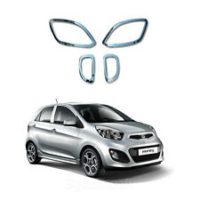 Chrome Fog & Reflector Lamp Cover Molding Trim B719 for Kia Picanto 2011-2012