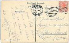 GIBRALTAR -  POSTAL HISTORY:  POSTCARD to USA 1919