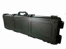 "56"" Black Airtight/Watertight Rifle Case with Custom Cut Foam"