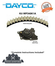 Dayco Engine Timing Belt Kit With Water Pump Pnwp348k1a