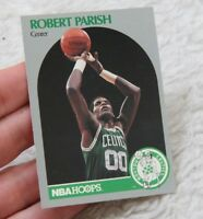 Robert Parish Basketball Card 1990 NBA Hoops Boston Celtics Hall Of Fame 00 Gray