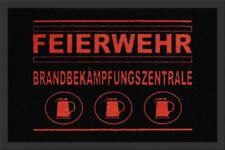 Fußmatte FEIERWEHR,60x40cm, Motiv Fussmatte,Foot Mat,Estera del Pie