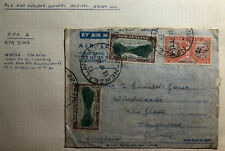 1946 New Zealand Army PO Hospital British Occupation Zone Japan Air Letter Cover