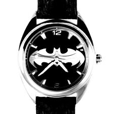 Batman Unworn Mans Leather Band New Fossil LTD Watch Number XXX/10,000 Just $139