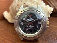 Wostok COMANDIRSKIE Vintage WATCH COMMAND VOSTOK Wrist,Chistopol USSR RARE MEN'S