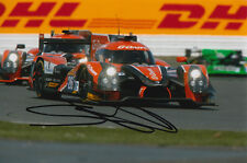 SAM BIRD G-DRIVE HAND SIGNED 6X4 PHOTO 2015 LE MANS.