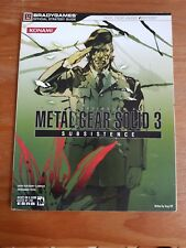 GUIDE METAL GEAR SOLID 3 SUBSISTENCE BRADYGAMES