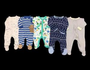 Baby Boy 3 Months 3-6 Months Carter's One Piece Sleeper Pajama Clothes Lot