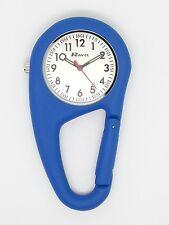 Ravel nurse fob watch blue clip on carabineer R1105.06