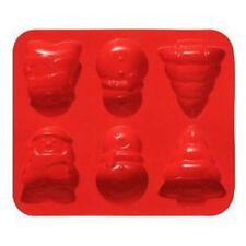 Moldes de hornear color principal rojo de silicona para tartas y bizcochos