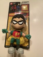 Teen Titans Robin Super Deformed Hard Head Plush Bandai 2004 Rare Fast Shipping!