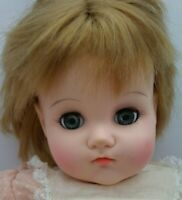 Vtg Madame Alexander Mommies Pet Baby Doll Strawberry Blond Blue Eyes 1973 w/Tag