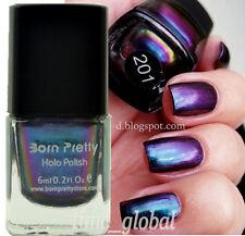 Born Pretty 6ml Chameleon Nail Art Polish Varnish (Black Base Color Needed) #201