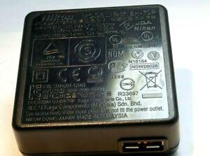 Nikon EH-70P AC USB Batería Cargador Adaptador Para Coolpix EN-EL19 Original OEM