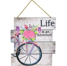 "Hanna's Handiworks ""Life is an Adventure"" Sign (68961)"