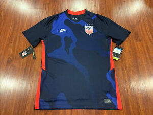 2020-21 Nike Breathe Mens United States Away Soccer Jersey Medium M USA US USWNT