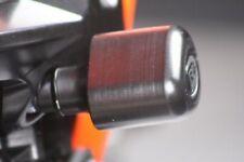 Kawasaki Z1000 2007-2009 R&G Racing black aero crash protectors bobbins CP0208BL