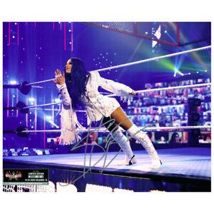 Sasha Banks SIGNED WWE WrestleMania 37 Exclusive 8x10 Photo