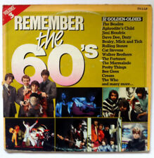"REMEMBER THE 60""S 32 GOLDEN OLDIES  2 LP VINYL 33 T ADEH/C 123 Holland 1983"
