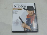 SILVER SCREEN ICONS JOHN WAYNE WESTERNS DVD NEW