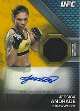 JESSICA ANDRADE #1/1 2020 Topps UFC Knockout GOLD Autograph Relic KAR-JA