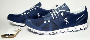 On Cloud Men's Size 11 Cloud Running Shoes, Navy / White