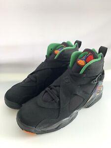 Youth Air Jordan 8 Retro (GS) Black/Multicolor Size 6Y
