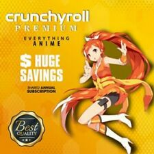 Crunchyroll Shared annual subscription ! Fast Delivery