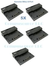 Lot of 5 Dell Docking Station Eport PRO3X Latitude E4200 E4300 E5400 E6400