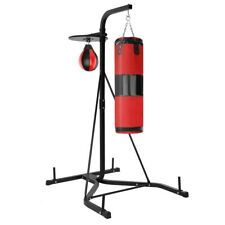 Color : Red AMYAL Punching Bag Inflatable Free Standing Punch Bag Heavy Duty Boxing Bag Stand Tower Bag Tumbler Column Sandbag with a Free Foot Air Pump