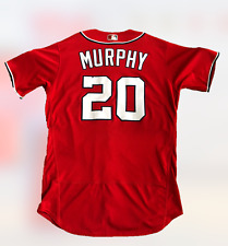 Nationals Daniel Murphy 2017 Season Worn Gran Slam Baseball Jersey