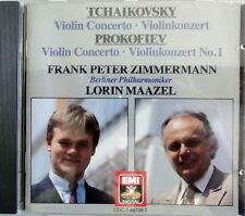 Tchaikovsky - Prokofiev - Violin Concerto - Zimmermann - Maazel - /CD