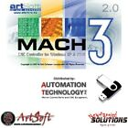 Fully Licensed Mach3 CNC Software, Free USB Flash Drive with License file