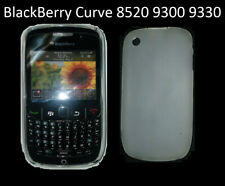 TPU gel silicone case cover white clear for BlackBerry Bold Curve 8520 8530