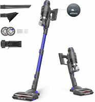 MOOSOO Cordless Vacuum Cleaner, Featuring Smart Sensor Tech, Powerful Stick US