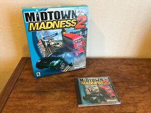 Midtown Madness 2 Vintage Computer Game by Microsoft