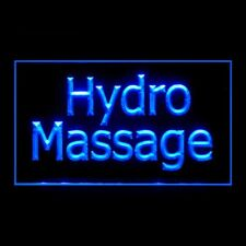 160128 Hydro Massage Treatment Circulation Muscle Display LED Light Sign