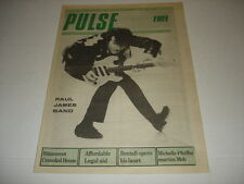 PAUL JAMES BAND on cover Pulse magazine August 24 1988 rare Barney Bentall