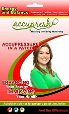 accupresh acupuncture acupressure kinesiology energy & balance relief patches
