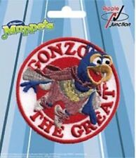 "The Muppets TV Show Gonzo The Great Character Face 3"" Embroidered Patch"
