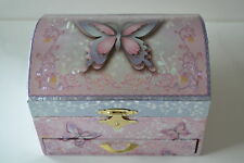Girls Ballerina Jewellery Music Musical Box Butterfly NEW! Ideal Gift, Unwanted