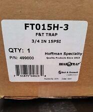 """Bell & Gossett FT015H-3 Steam Trap 15 psi 3/4"""" P/N 499000"""