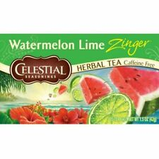 Celestial Seasonings Watermelon Lime Zinger Tea 20 Tea Bags New Box